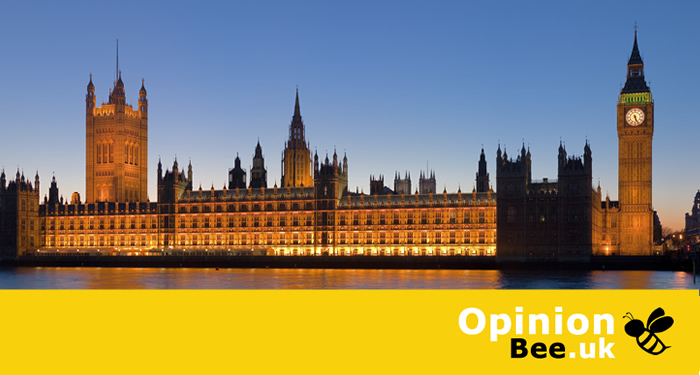 OpinionBee.uk Poll of Polls: Westminster Voting Intention